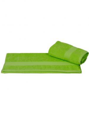 Махровое полотенце 100x150 BERIL зеленое, 100% хлопок HOBBY HOME COLLECTION. Цвет: зеленый
