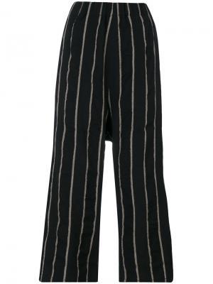 Укороченные брюки Talon Uma Wang. Цвет: чёрный