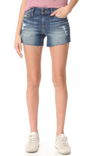 4 Обрезанные шорты с Ozzie Joe's Jeans. Цвет: сине-голубой