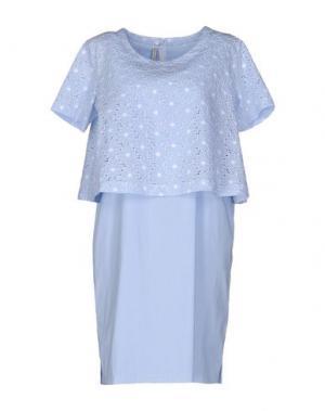 Короткое платье AIMO RICHLY. Цвет: небесно-голубой