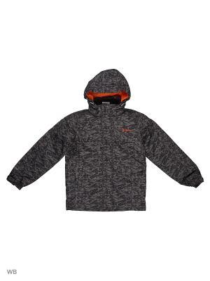 Куртка Guahoo. Цвет: серый