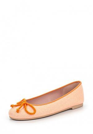 Балетки Pretty Ballerinas. Цвет: оранжевый