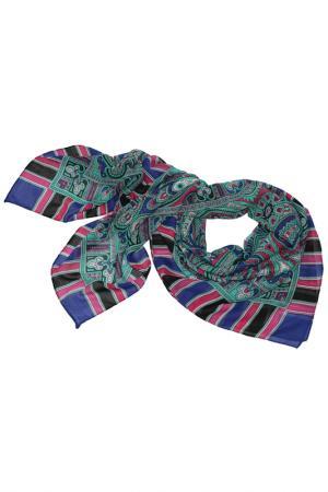 Платок ETHNICA. Цвет: мятный, синий, черный, розовый