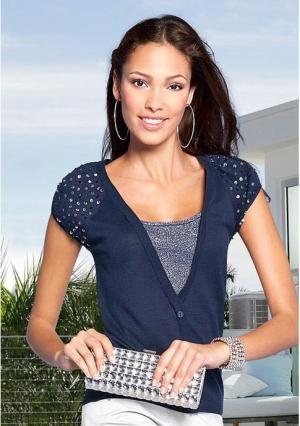 Пуловер Maria Bellesi. Цвет: синий