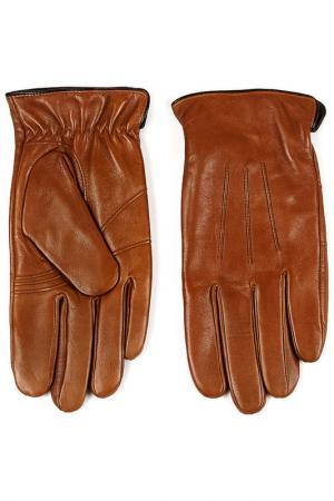 Перчатки Piero. Цвет: коричневый