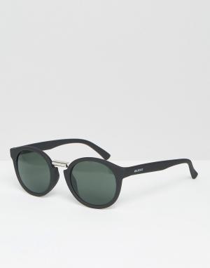 Mr Boho Солнцезащитные очки с классическими стеклами Mr. Fitzroy. Цвет: черный