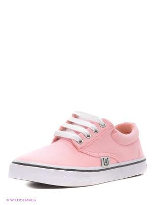 Кеды 4U. Цвет: бледно-розовый