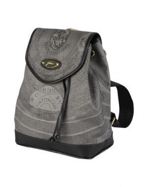 Рюкзаки и сумки на пояс GATTINONI. Цвет: свинцово-серый