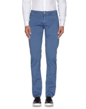 Повседневные брюки SIVIGLIA. Цвет: грифельно-синий