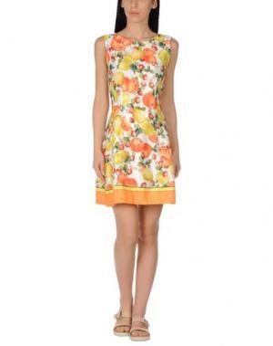 Пляжное платье MISS NAORY. Цвет: желтый