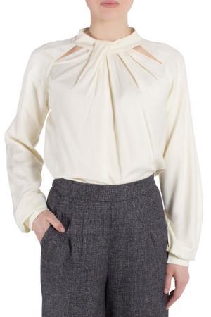 Блуза FEVER LONDON. Цвет: cream