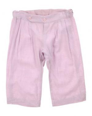 Повседневные брюки IMPS&ELFS. Цвет: сиреневый