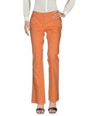 Повседневные брюки GOOD MOOD. Цвет: оранжевый