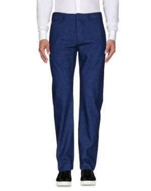 Повседневные брюки GARBSTORE. Цвет: синий