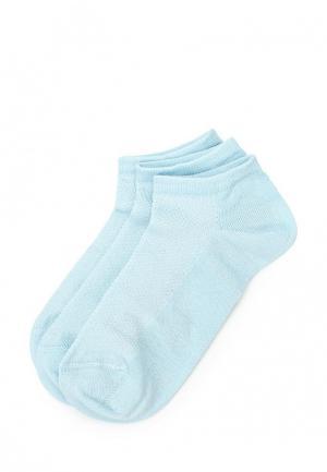 Комплект носков 3 пары Incanto. Цвет: голубой