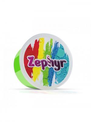 Кинетический пластилин Zephyr.. Цвет: зеленый