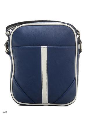 Мужская сумка Modis. Цвет: темно-синий
