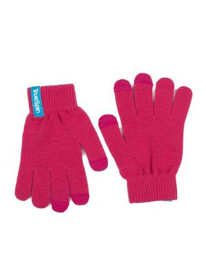 Перчатки TRUESPIN Touch Gloves True Spin. Цвет: коралловый, розовый