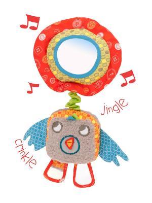 Музыкальная игрушка птичка Little Bird Told Me. Цвет: серый
