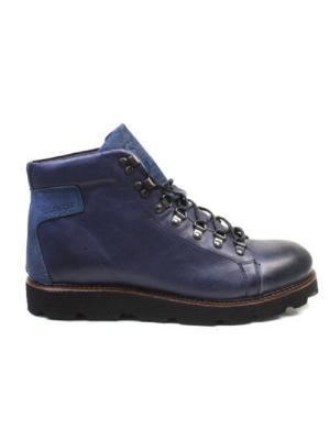 Ботинки Yellow CAB. Цвет: темно-синий