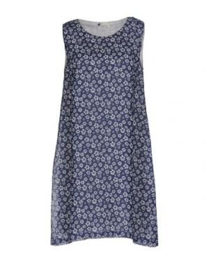 Короткое платье AGATHA CRI. Цвет: синий