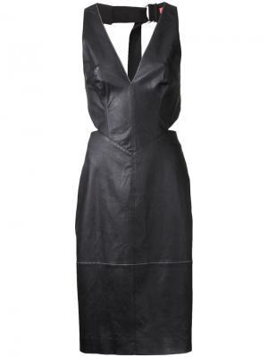 Платье Digital Dash Manning Cartell. Цвет: чёрный