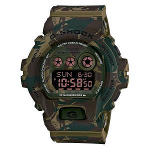 Часы  Gd-x6900mc-3e Green/Brown Casio G-Shock. Цвет: зеленый,коричневый