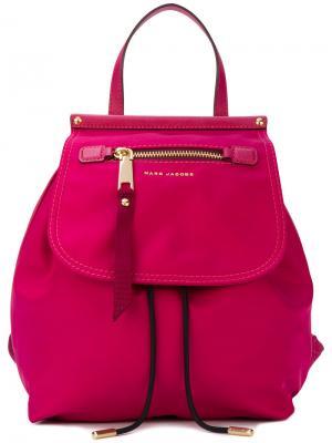 Рюкзак Trooper Marc Jacobs. Цвет: розовый и фиолетовый