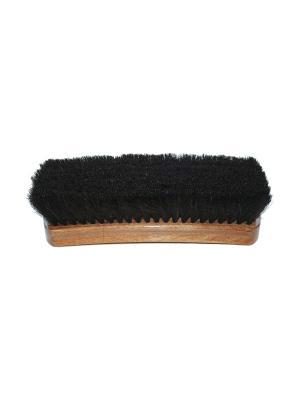 Щетка для гладкой кожи, натуральный темный ворс, 20,5см., Tarrago. Цвет: черный