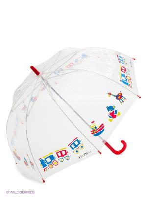 Зонт Flioraj. Цвет: красный, белый, синий