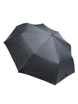 Зонт Edmins. Цвет: черный, светло-серый
