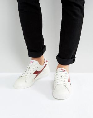 Diadora Белые низкие кроссовки Game L. Цвет: белый