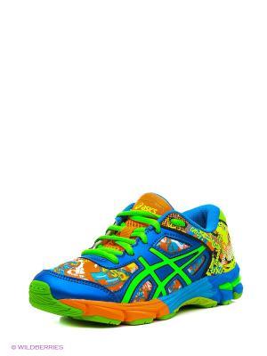 Кроссовки GEL-NOOSA TRI 11 GS ASICS. Цвет: желтый, зеленый, синий