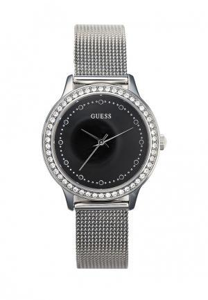Часы Guess. Цвет: серебряный