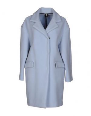 Легкое пальто 1-ONE. Цвет: небесно-голубой