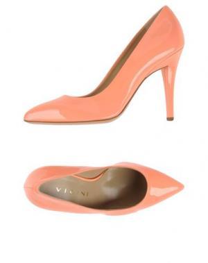 Туфли VICINI. Цвет: лососево-розовый