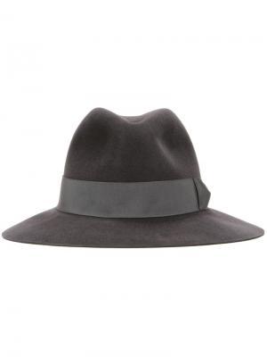 Фетровая шляпа Kijima Takayuki. Цвет: серый