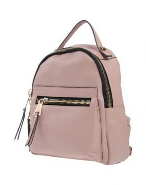 Рюкзаки и сумки на пояс AB ASIA BELLUCCI. Цвет: голубиный серый