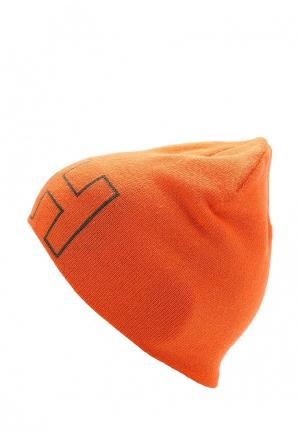 Шапка Helly Hansen. Цвет: оранжевый