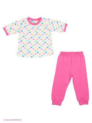 Комплект одежды Лео. Цвет: малиновый, зеленый