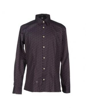 Pубашка I.D.I.B.. Цвет: темно-коричневый