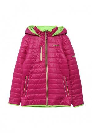 Куртка утепленная Gusti. Цвет: фуксия