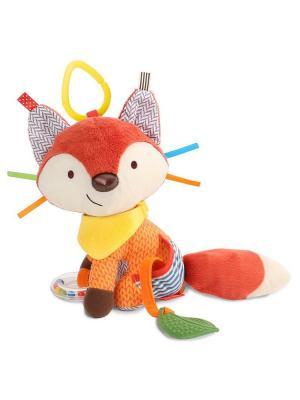 Развивающая игрушка-подвеска Лиса SkipHop. Цвет: оранжевый, серый