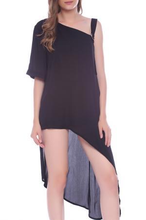 Блуза Emma Monti. Цвет: черный