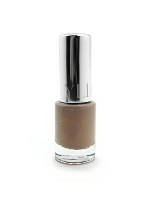 Лак для ногтей Glamour ИЛЛОЗУР. Цвет: светло-серый