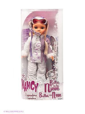 Кукла Нэнси Зимняя красавица Famosa. Цвет: белый
