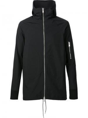 Zipped hooded jacket Siki Im. Цвет: чёрный