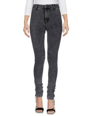 Джинсовые брюки BOY LONDON. Цвет: серый