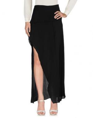Длинная юбка KORALLINE. Цвет: черный