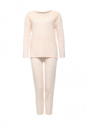 Пижама womensecret women'secret. Цвет: бежевый